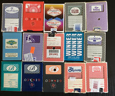 Casino Playing Cards Lot