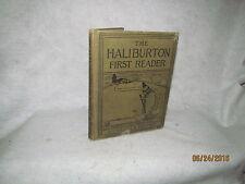 Antique Book - The Haliburton First Reader by M.W. Haliburton