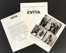 EVITA Madonna RARE 1996 MOVIE PRESS KIT w/Photo