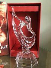 DANCING FIGURE GORGEOUS CRYSTAL BALLERINA DANCER BOXED NEW STUNNING GIFT