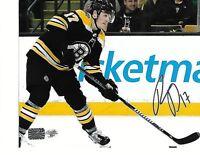 Ryan Donato Boston Bruins Autographed signed 8x10 photo coa YSM