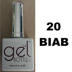 NEW The Gel Bottle Inc TGB Builder In A Bottle 20 BIAB Gel UV LED Polish 20ml