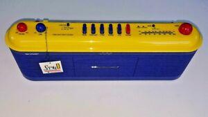 VINTAGE SHARP MODEL QT-V40(BL) STEREO RADIO CASSETTE RECORDER RETRO