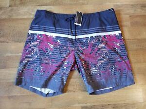ROUNDTREE & YORKE men's XL 3 pocket zip fly swim trunks shorts swimwear