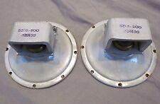 """Pair of Vintage Utah 5"""" Speakers Tweeters 6Z16-900"""