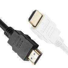 HDMI Kabel 4K UHD 2.0 1m - 1,5m - 3m - 7,5m - 10m Schwarz Weiß