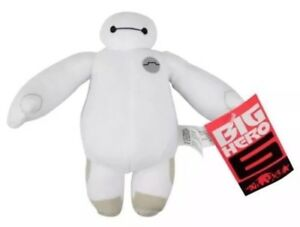 Disney Pixar Big Hero 6 Baymax Soft Plush Toys Disney Store Bandai Small Medium