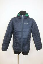 Alpina Men's BMW  Quilted Outdoor Hooded Jacket sz M