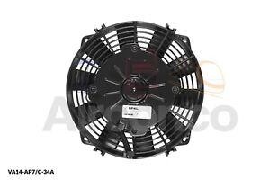 "Spal Axial Fan, VA14-AP7/C-34A, 12v (Pull) 7.5"" (190mm) - Genuine Product!"
