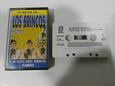 LOS BRINCOS LO MEJOR DE CINTA TAPE CASSETTE 1990 SPANISH ED ZAFIRO