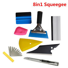 8PCS Squeegee Car Window Tinting Auto Film Wrapping Install Applicator Tools
