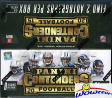 2015 Panini Contenders Football HUGE Factory Sealed 24 Pack Retail Box-2 AUTOS