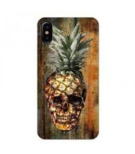 Coque Iphone X Mort Ananas effet Bois vintage tropical