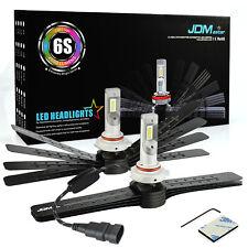 JDM ASTAR 2x 6S 8000LM 9005/HB3 Headlight High Beam LED Bulbs Bright Xenon White