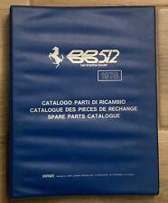 Ferrari 512 BB Spare Parts Catalog 1978 (139/78); Original