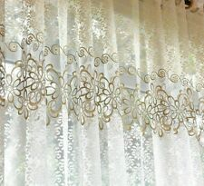 Sheer Tulle Curtains Voile Sheer Window Treatments Floral Patterned Curtain Tool