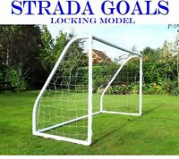 Strada Football Goals Kids Goal Fully Locking Model for Garden Outdoor / Indoor