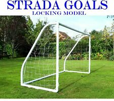 Strada Football Goals Kids Goal Fully Locking Model for Garden Outdoor / Indoor