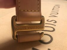 ❤️❤️ Authentic Louis Vuitton Leather Strap for Business Pegase Suitcase / New