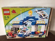 LEGO DUPLO STAZIONE DI POLIZIA-Auto della polizia, Heli-guardia/prigione-Set 5681-TOP!