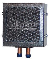 "16,000 BTU 7"" x 7"" x 8"" Auxiliary Heater 12v Thru Floor Fittings Northern AH464"