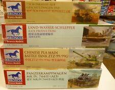 Lot Bronco 1/35 Tanks & Armored Vehicles Model Kits (4) New