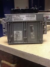 CITROEN PEUGEOT - ENGINE ECU - 9643786680 - 9644486780 -