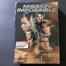 Mission: Impossible Complete First TV Season DVD 2006 7 Disc Set New Sealed