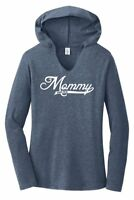 Mommy Since 2018 Ladies Hooded T Shirt New Baby Mom Mother's Day Gift Tee