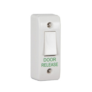 Narrow Architrave mount press to exit button / door release switch / REX button