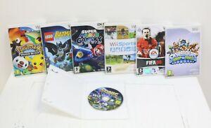 Job Lot Wii Games Pokepark 2 Lego Super Mario Galaxy Fifa 08 Skylanders Sonic