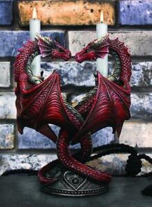 ANNE STOKES DRAGON HEART CANDLE HOLDER Valentine's Edition Fantasy Gothic Dragon