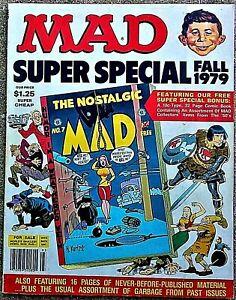 "MAD SUPER SPECIAL FALL 1979! FN! 6.0 .99 Start! SHARP! MINT ""NOSTALGIC MAD"" #7"