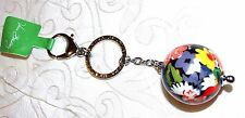 Vera Bradley Have a Ball Keychain Multi Key Ring with Hook/Purse in Poppy Fields