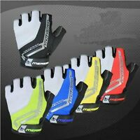 New Cycling Bike Bicycle Ultra-breathable Shockproof GEL Half Finger Glove M-XL