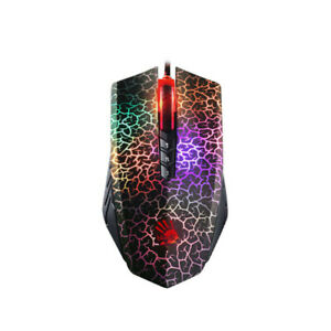 For Bloody A70 4000DPI USB Optical Gaming Mouse Colorful Glare Wired Mice