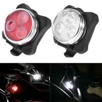 LED Waterproof Bike Bicycle Cycling Front Back Rear Tail Light Set Super Bright