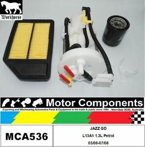 FILTER SERVICE KIT for Honda JAZZ GD L13A1 1.3L Petrol 03/06-07/08