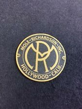 Mole Richardson Hollywood Decal Steampunk ARRI Bardwell Mcalister Studio Gold S