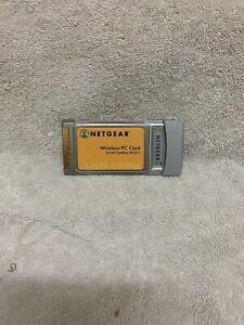 Netgear WG511v2 54Mbs 32Bit Wireless G Laptop Network PC card (PCMCIA)