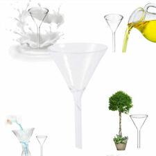 Glas Trichter Glastrichter Dreieck mit gerader Spitze 60x100mm Laborzubehör Neu