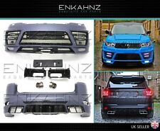 RANGE ROVER SPORT LM STYLE BODYKIT L494 NOT LUMMA SVR - £2400 SUPPLY FIT PAINTED