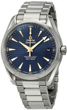 New Omega Seamaster Aqua Terra Blue Dial Men's Watch - Ref. 23110422103006