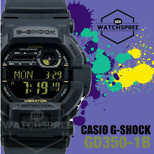 Casio G-Shock Vibration Alert Watch GD350-1B
