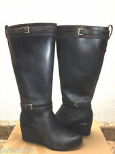 UGG IRMAH STOUT WATER / SNOW PROOF LEATHER WEDGE BOOTS US 9 / EU 40 / UK 7.5