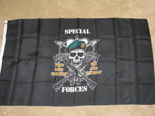 3X5 Army Special Forces Flag Pirate Mess With Best F206