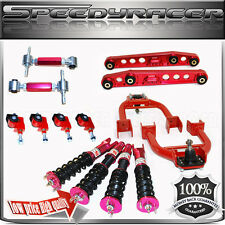 Civic Del Sol Integra Camber kits+ Damper Coilover suspension +Lower Comtrol Arm