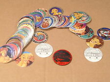 LION KING POGS BY CANADA GAMES COMPLETE SET OF ALL 78 FRESH FROM UNOPENED CASE