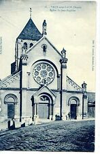 CP 02 AISNE - Vaux-sous-Laon - Eglise St-Jean-Baptiste