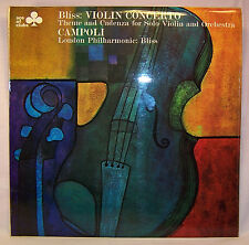 Bliss: VIOLIN CONCERTO Campoli London Philharmonic Ace of Clubs UK Import LP